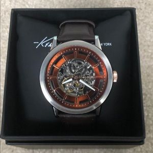 Kenneth Cole men's Skeleton watch
